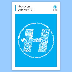 Hospital Records – We Are 18 Poster