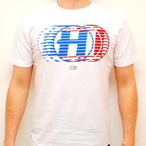 Hospital Records – High Tempo White T-Shirt