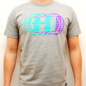 Hospital Records – High Tempo Grey T-Shirt