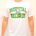 Hospital Records – College Camo White T-Shirt