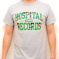 Hospital Records – College Camo Grey T-Shirt