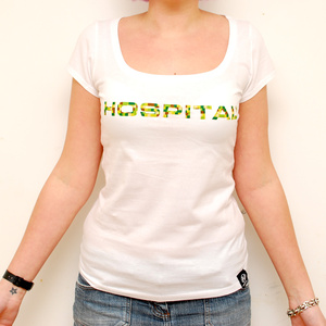 Hospital Records – Girls Camo T-shirt