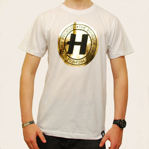Hospital Records – Re-Marque White T-Shirt