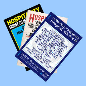 Hospital Records – Hospitality Poster Bundle