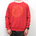 Geometric Sweat Red