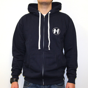 Hospital Records – Blue Zip Hoody