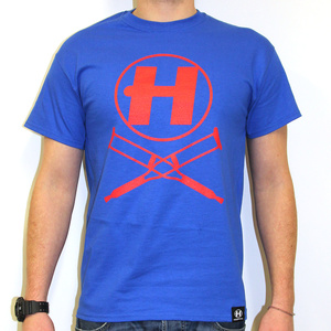Hospital Records – Crutches Blue Tee