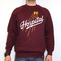 Hospital Records – Home Run Burgundy Sweatshirt
