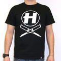 Hospital Records – Crutches Black T-Shirt