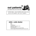 Various Artists – Out Patients 1 Sampler (7 inch)