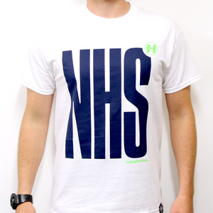 Hospital Records – NHS White Tee
