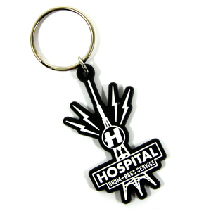 Hospital Records – Hospital Tower Keyring