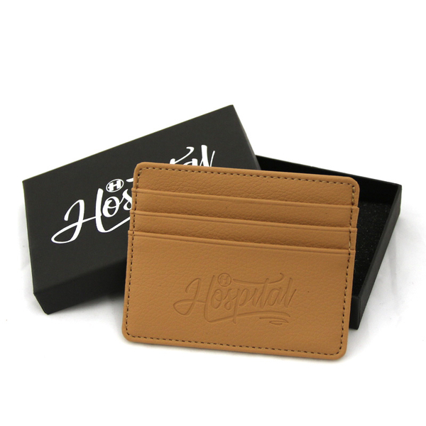 Hospital Records – Leather Card Holder