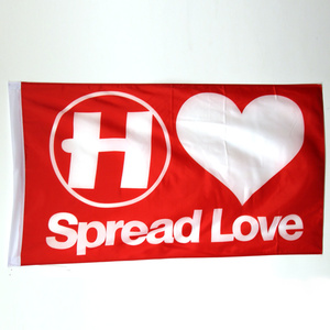 Hospital Records – Spread Love Flag