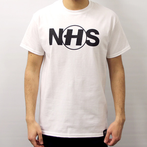 Hospital Records – N(H)S Tee White