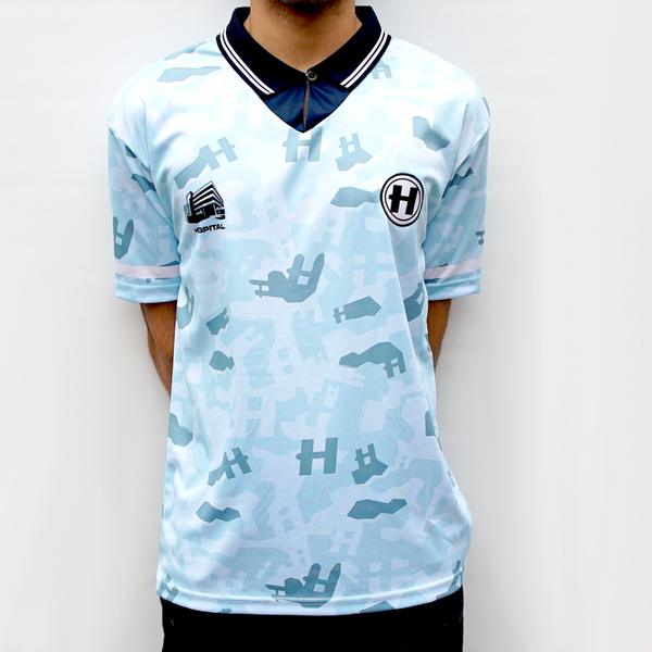 Hospital Records – Football Shirt - Blue