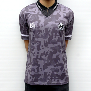 Hospital Records – Football Shirt - Black