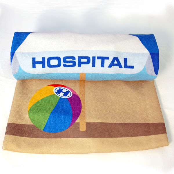 Hospital Records – Beach Towel