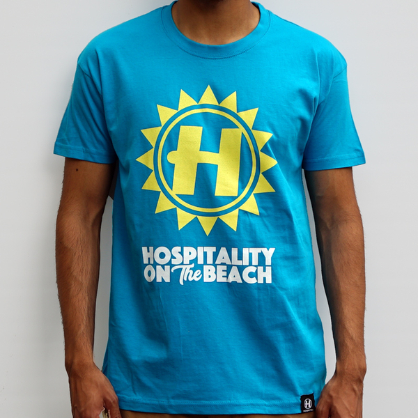 Hospital Records – Hospitality On The Beach Tour Tee