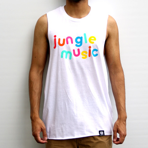 Hospital Records – Jungle Music Vest - Mens