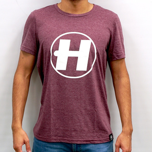 Hospital Records – Hospital Classics - Burgundy Tee
