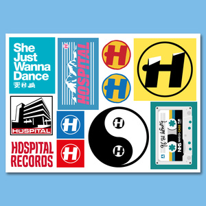 Hospital Records – Sticker Sheet Series 16