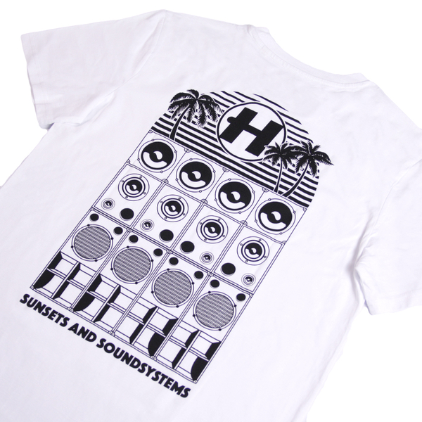 Hospital Records – Sunsets and Soundsystem Tee
