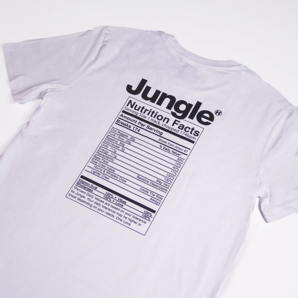 Hospital Records – Jungle Facts White Tee