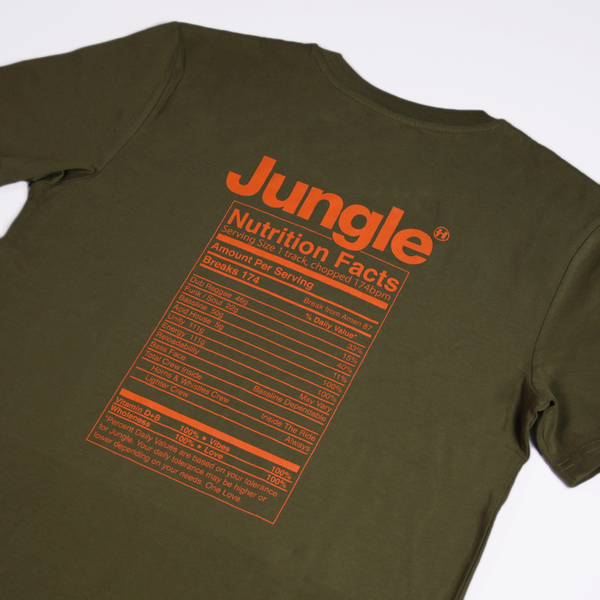Hospital Records – Jungle Facts Green Tee