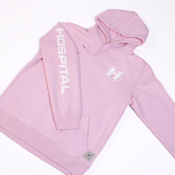 Hospital Records – Hospital Essentials - Pink Hoodie
