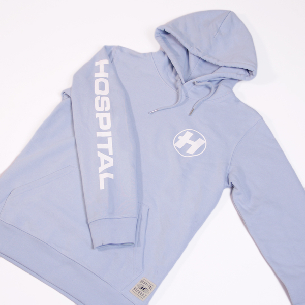 Hospital Records – Hospital Essentials - Blue Hoodie