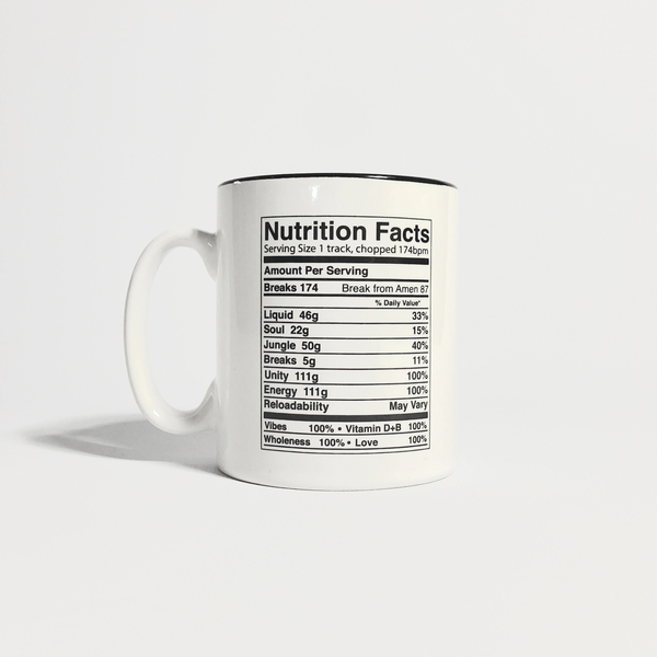 Hospital Records – Nutrition Facts Mug