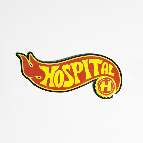 Hospital Records – Stickers 2019