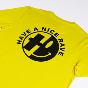 Have A Nice Rave Yellow Tee