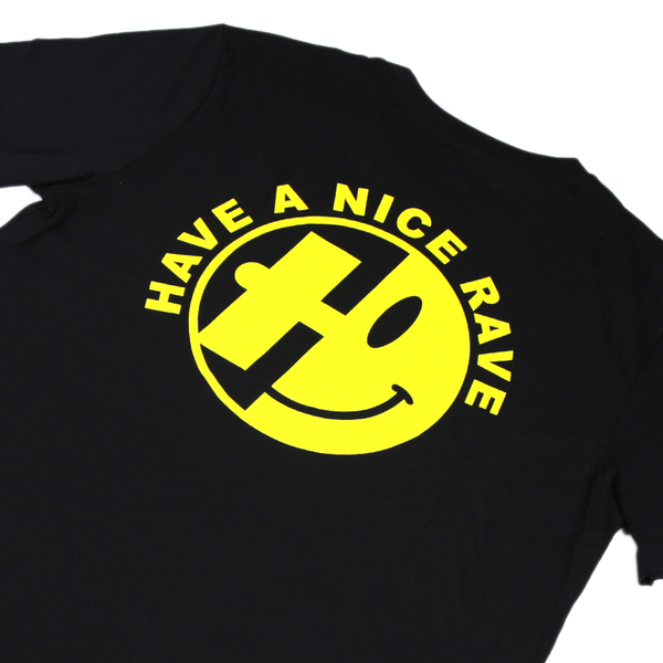Hospital Records – Have A Nice Rave Black Tee