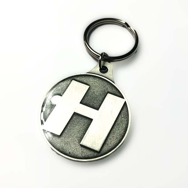 "Hospital Records – ""H"" Pewter Keyring"