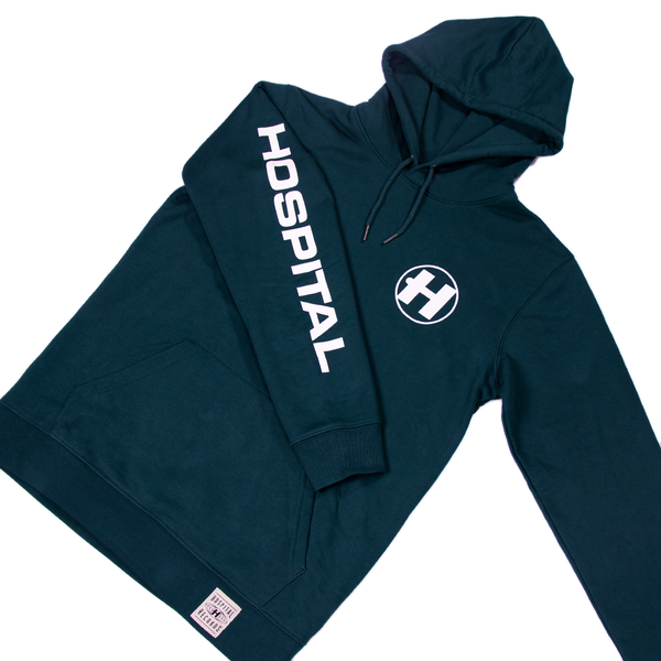 Hospital Records – Hospital Essential Hood - Racing Green