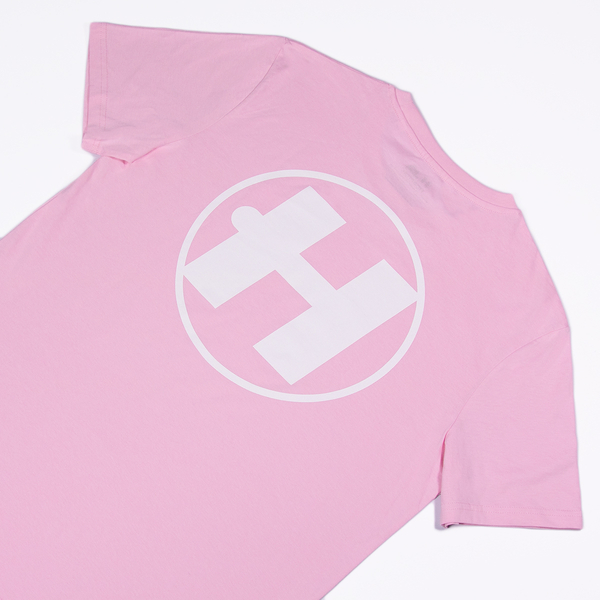Hospital Records – Essential Tee - Pastel Pink