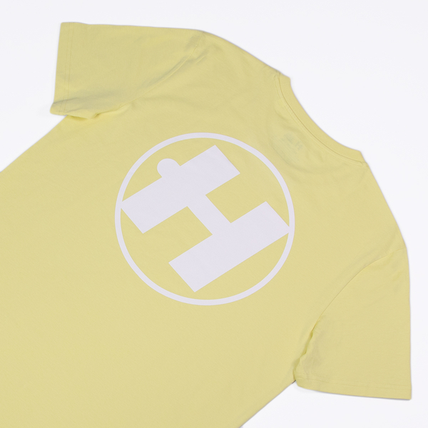 Hospital Records – Essential Tee - Pastel Yellow
