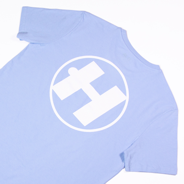 Hospital Records – Essential Tee - Pastel Blue
