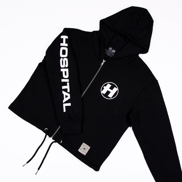 Hospital Records – Crop Hood - Black