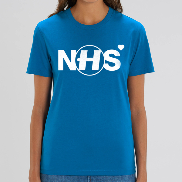 Hospital Records – NHS Donation Tee - Blue