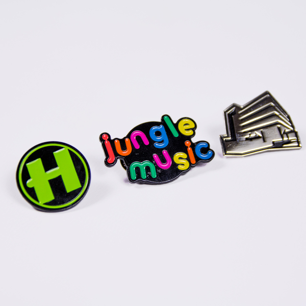 Hospital Records – Pin Badge Bundle