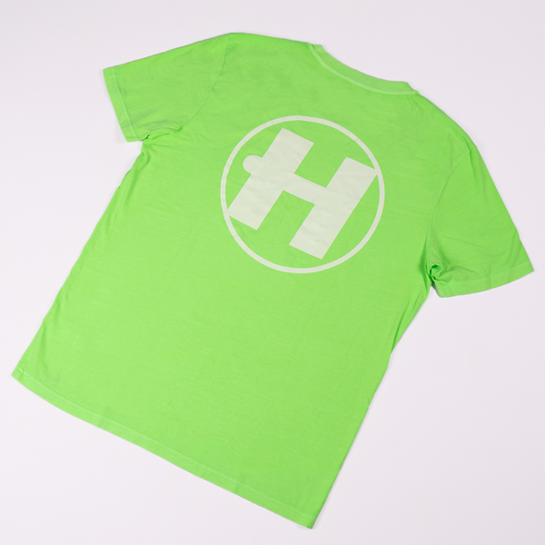 Hospital Records – Essential Tee - Neon Green