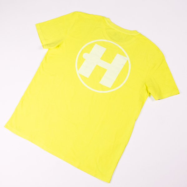 Hospital Records – Essential Tee - Neon Yellow