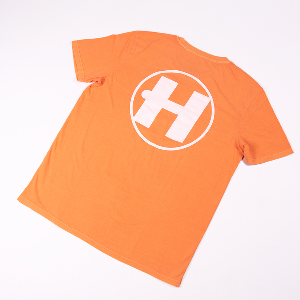 Hospital Records – Essential Tee - Neon Orange