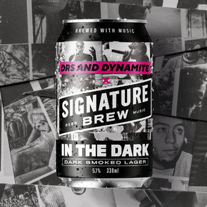 DRS & DYNAMITE MC COLLAB - IN THE DARK SMOKED LAGER