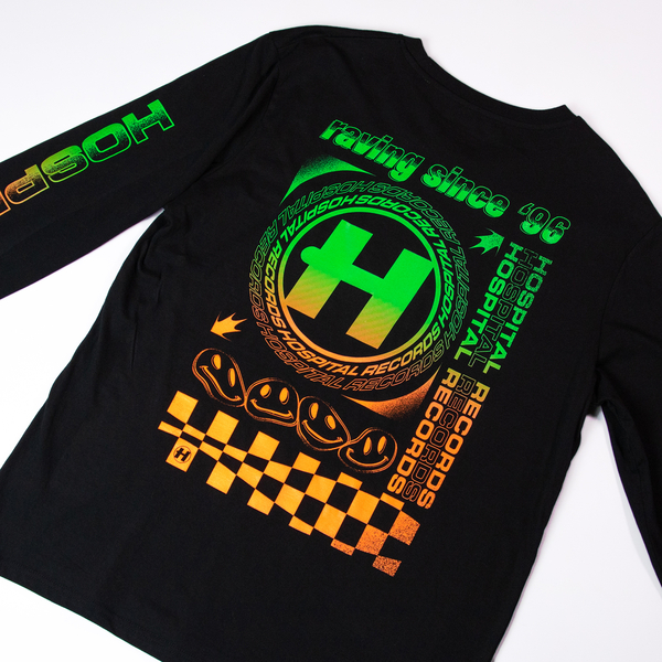 Hospital Records – Since '96 Black Long Sleeve