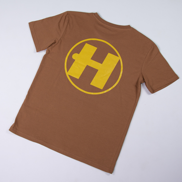 Hospital Records – Essential Tee 2.0 - Autumn Brown