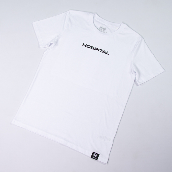 Hospital Records – Essential Tee 2.0 - White